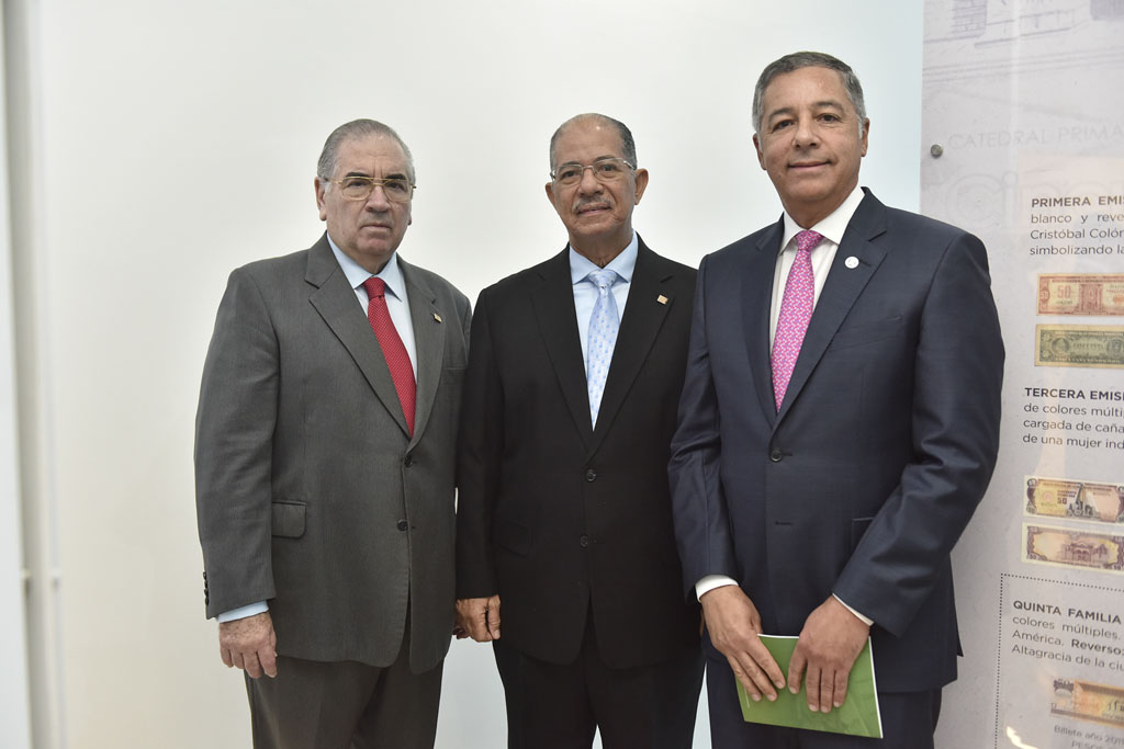 Manuel García Arévalo, José Alcántara Almánzar y Donald Guerrero