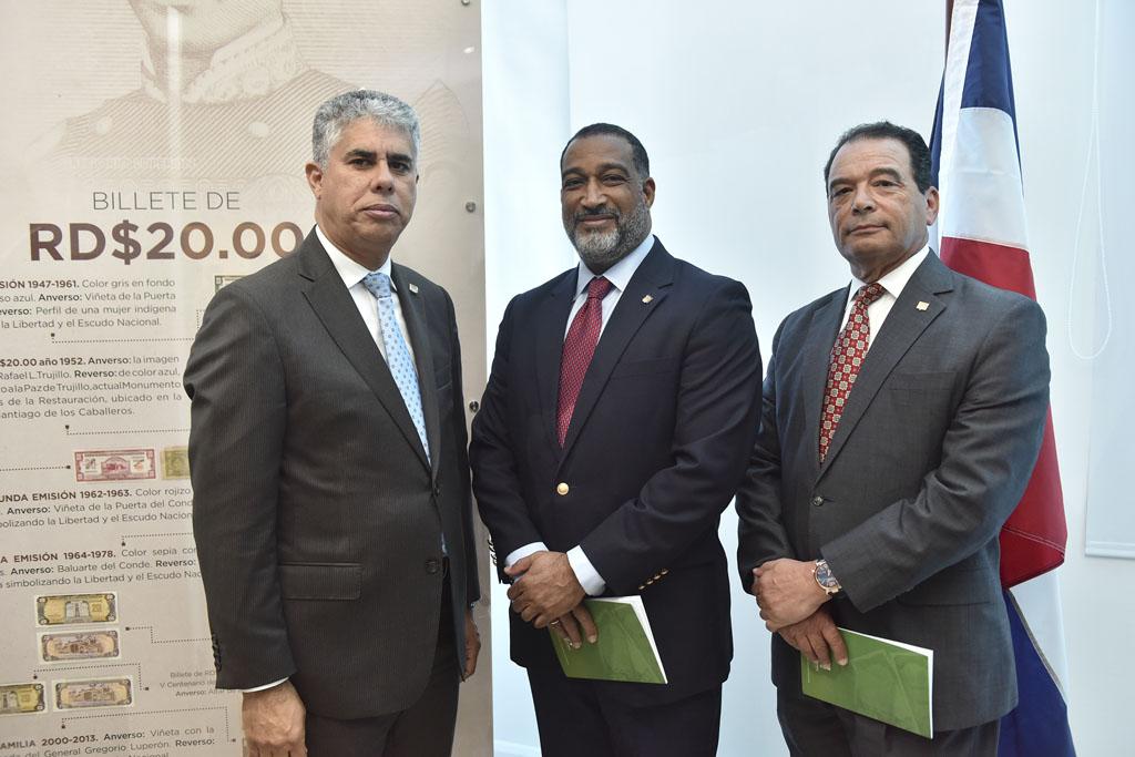 José Manuel Taveras Lay, Frank Montaño y Roberto Pelliccione